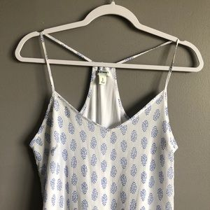 Old Navy Dresses - Old Navy • Blue White Halter Top Dress